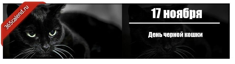 День черной кошки