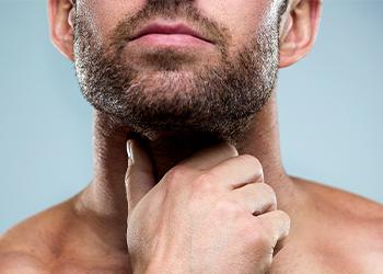 К чему чешется шея у мужчины