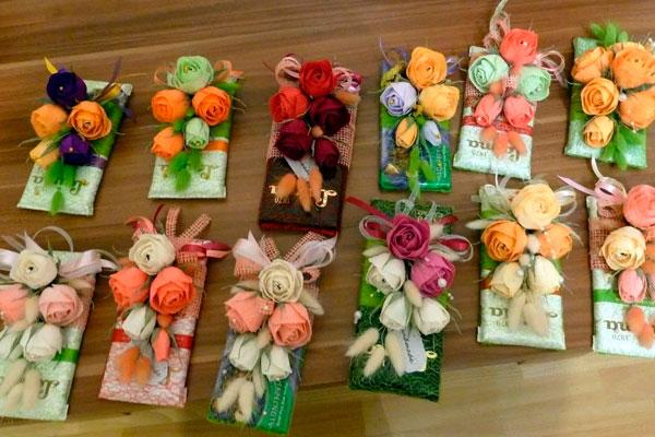 Подарки своими руками одногруппницам на 8 марта
