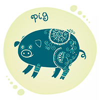 Характеристика знака Свинья