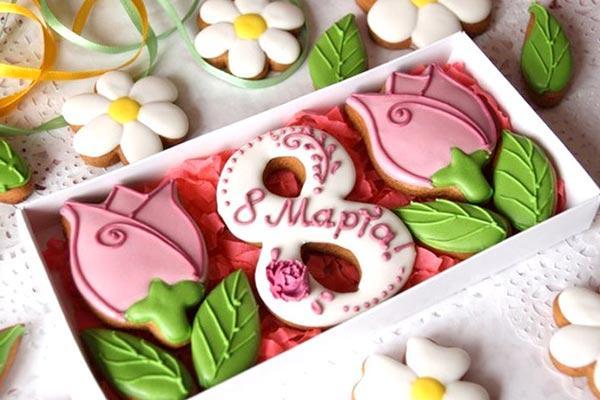 Сладкие и вкусные подарки свекрови на 8 марта
